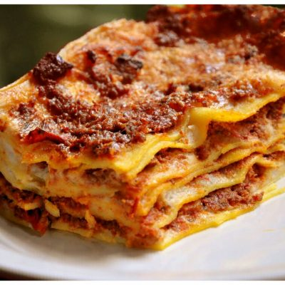 Recipes Selected - Italian Bolognese Lasagna