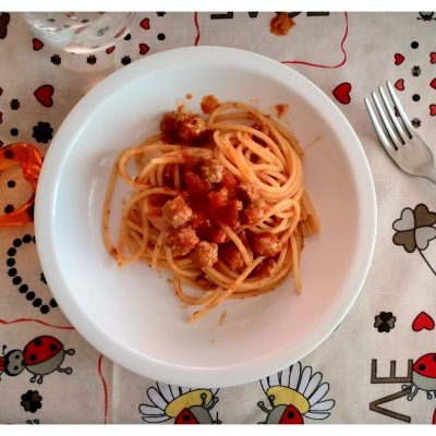 Recipes Selected - Italian Spaghetti Pasta Sauce With Small Meatballs