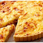 Quiche Lorraine (Bacon and Cheese)