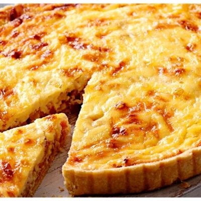 Recipes Selected - Quiche-lorraine