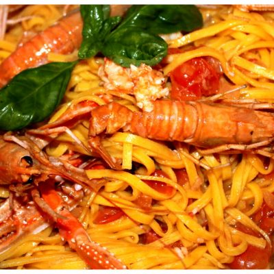 Recipes Selected - Shrimps Linguine Pasta