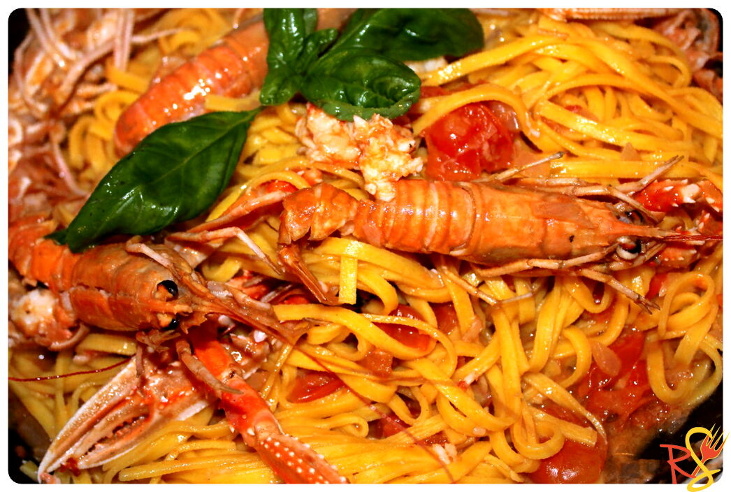 Shrimps Linguine Pasta