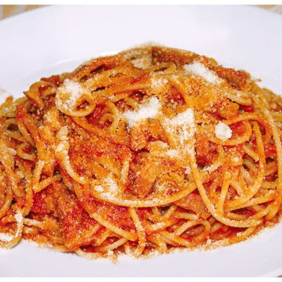 Recipes Selected - Spaghetti Amatriciana