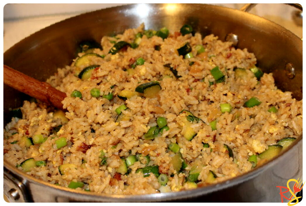 Zucchini Egg Fried Rice