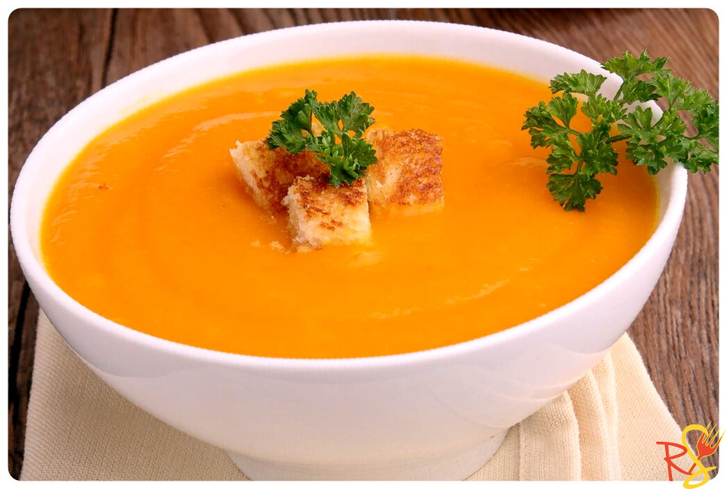 Velvety Pumpkin And Potatoes Soup