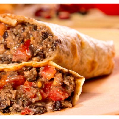 Recipes Selected - Beef Burritos