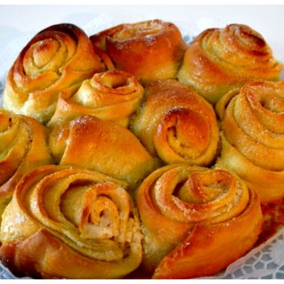 Recipes Selected - Roses Cake
