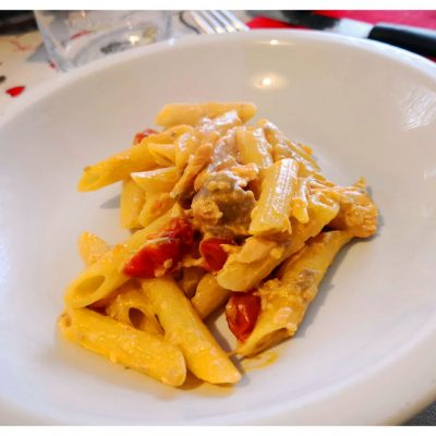 Recipes Selected - Pasta With Creamy Salmon And Vodka Sauce