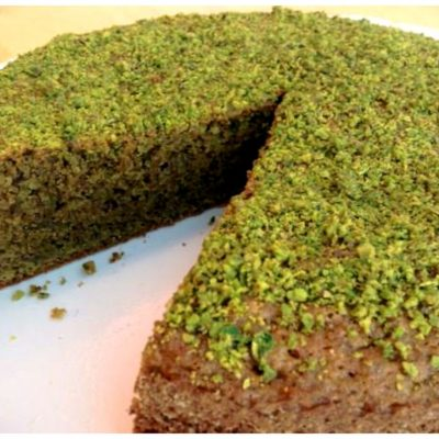 Recipes Selected - Vegan Pistachio Cake