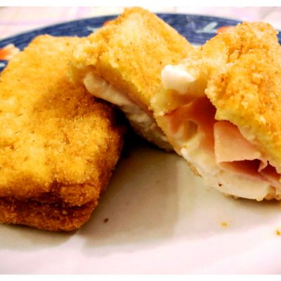 Recipes Selected - Mozzarella In A Carriage with Baked Ham