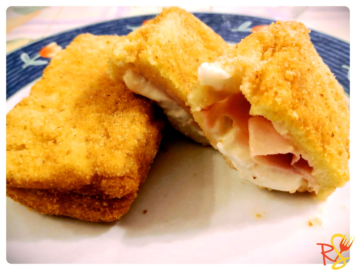 Mozzarella in A Carriage with Baked Ham