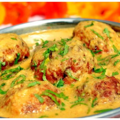 Recipes Selected - Malai Kofta - Indian Vegetarian Balls
