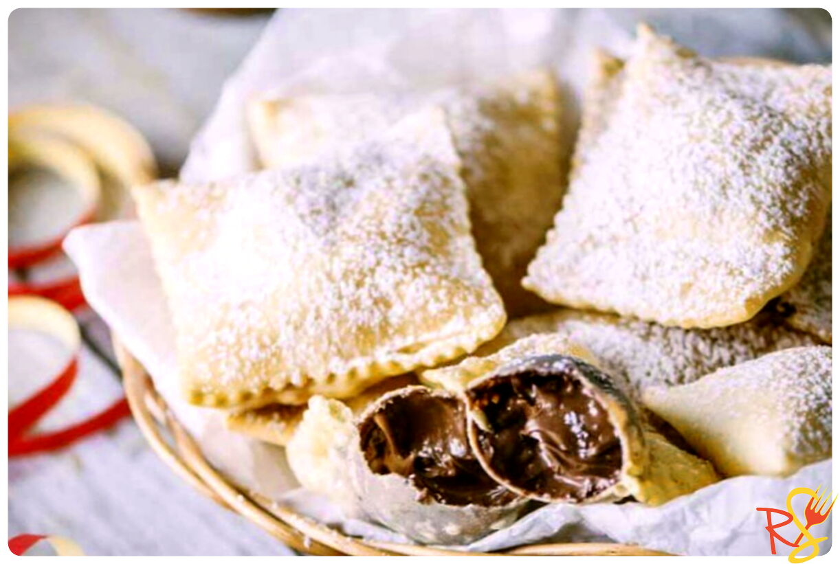 Fried Nutella Dumplings